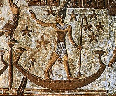 Osiris at Abydos Egyptian