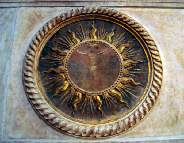 RÓMA SOPRA MINERVA - JÉZUS A 72 SUGARÚ NAPBAN