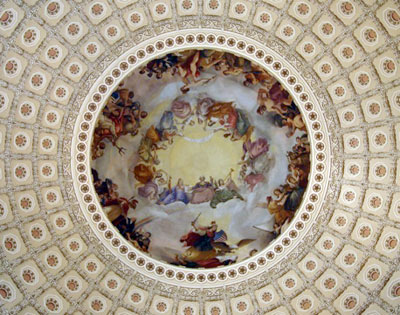 Dome of, US Capitol Building by Wm Henry