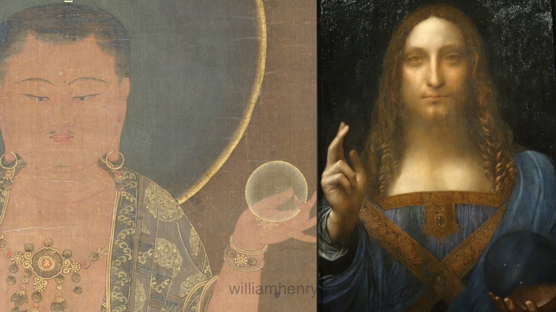 Salvator Mundi Discovery >> SEEING SALVATOR MUNDI : A MOMENT OF TRANSCENDENCE IN LEONARDO'S VORTEX | William Henry