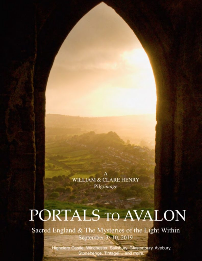 WILLIAM & CLARE HENRY PORTALS TO AVALON