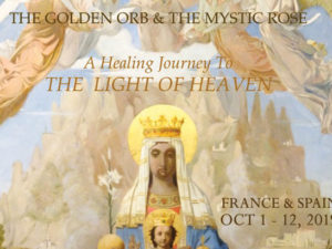 THE LIGHT OF HEAVEN, PATH OF MIRACLES : LOURDES. LANGUEDOC. MONTSERRAT