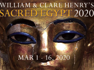 SACRED EGYPT MARCH 1-16, 2020